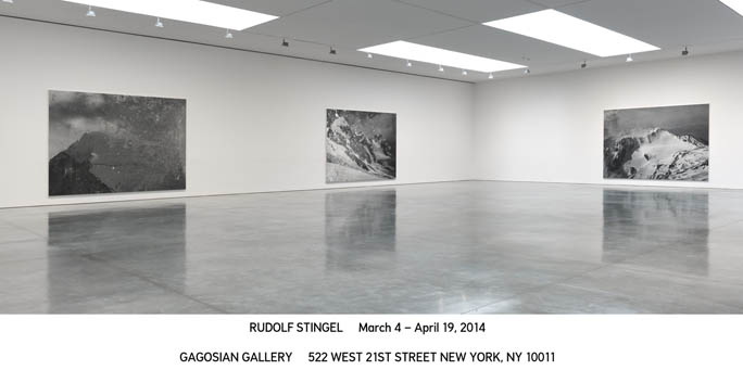 © Rudolf Stingel. Courtesy Gagosian Gallery. Photo by Robert McKeever