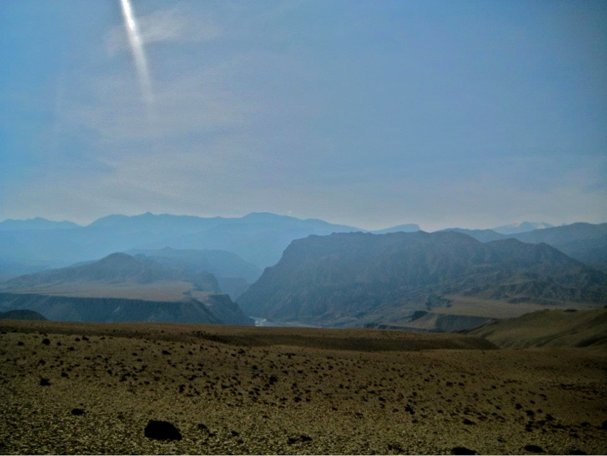 Upper Mustang village of Samong (Tsechu Dolma/GlacierHub)