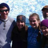 "High schoolers get ""hands on"" with Alaska glacier"