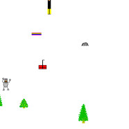 SkiFree, a game from the past, has a message for the future