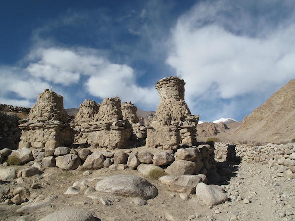 Ancient chortens