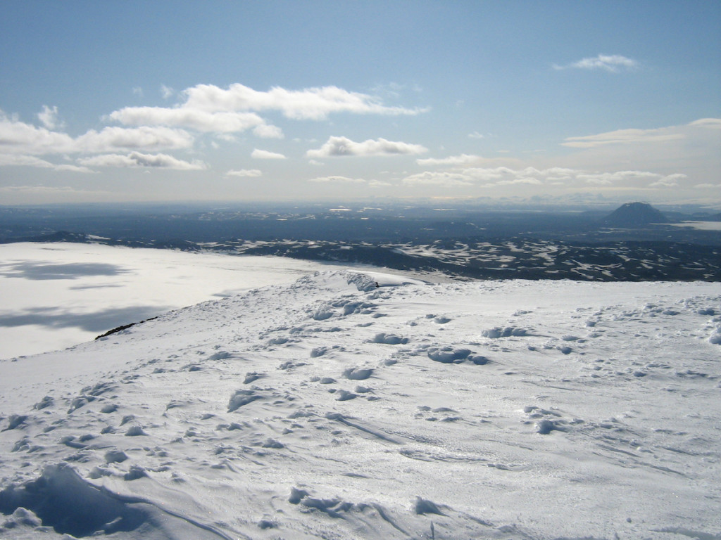 Iceland's Bárðarbunga volcano in 2009