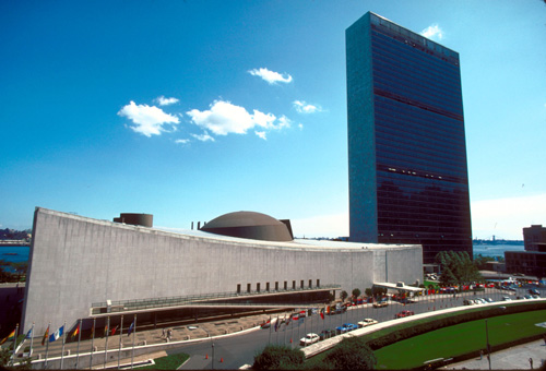 The march comes just before the opening of the United Nations' 2014-15. (source: United Nations)