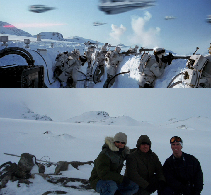 Star Wars tourism sometimes brings fans to the ends of the earth (in this case Fense, Norway) to visit filming locations. (source: PropStore.com)