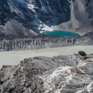 As Glaciers Melt, A Lake in Nepal Fills Up
