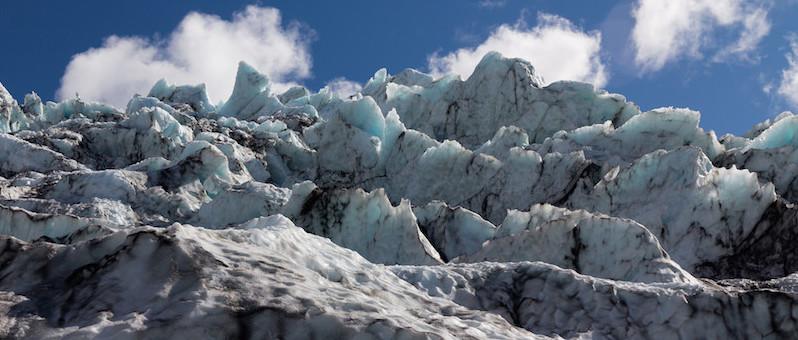 Falljökull glacier. Photo: © Matt Malone