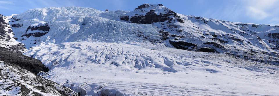 Icelandic Zombie Glacier Survives by Shedding Dead Bits