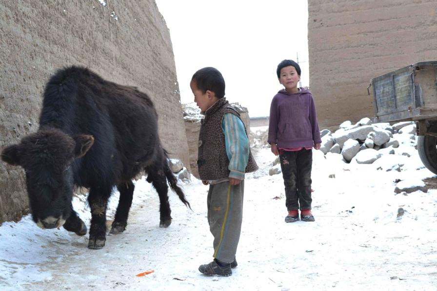 Résidents Amdo au Tibet