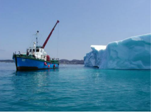 The makers of Iceberg Vodka harvest their ice from Canada's Iceberg Alley. (Source: Iceberg Vodka)