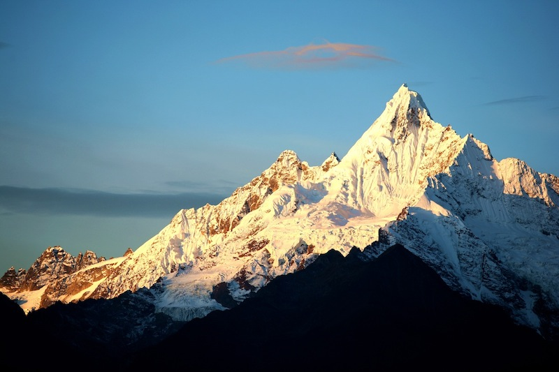 云南梅里雪山_Yunnan