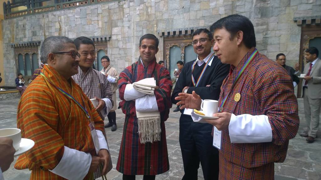 Conversations continued during break at E3 conference .(Photo:Dasho Benji Dorji)