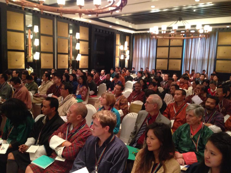 Participants at E3 conference (Photo: Dasho Benji Dorji)