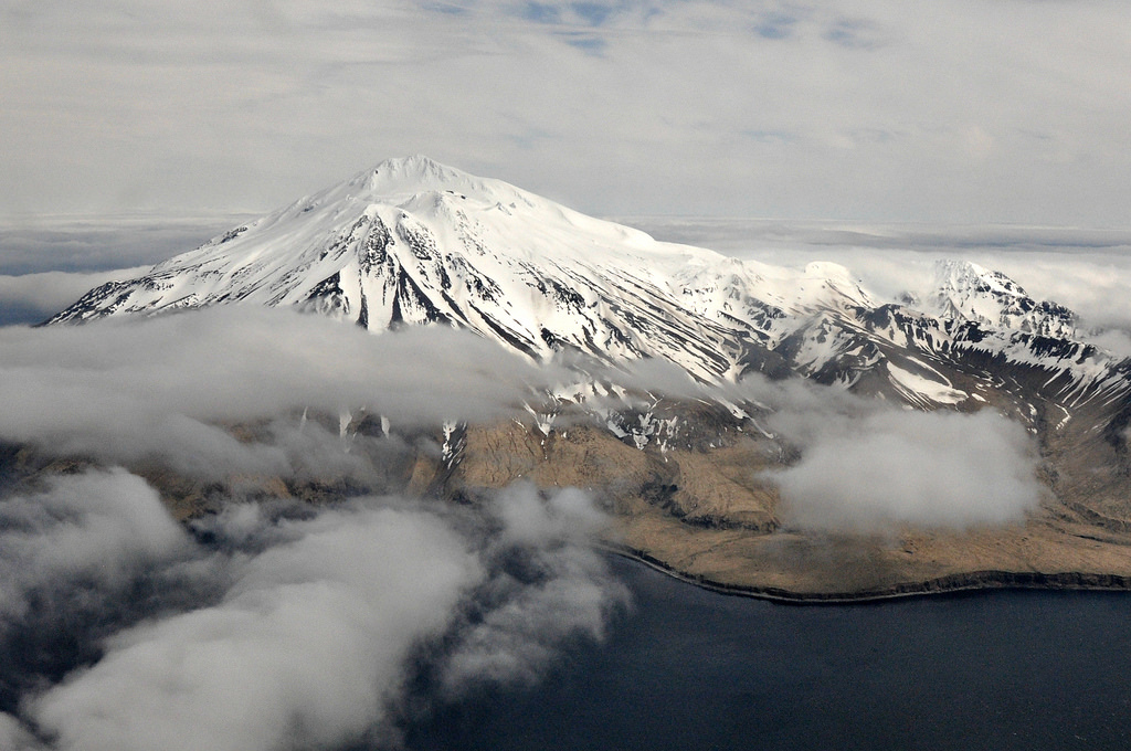 Ariel Photo of Aleutian Island Adak