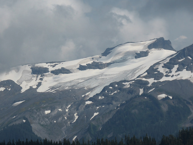 A picture of the Sholes Glacier