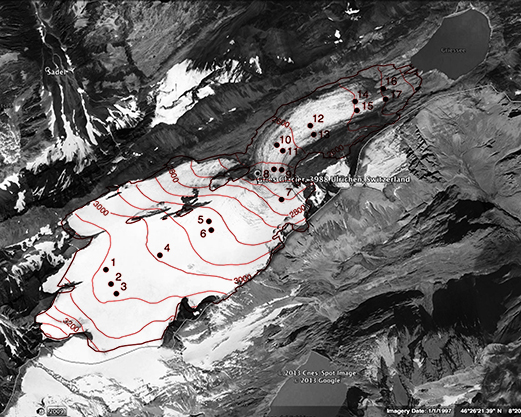 GRIES_glacier_map_Ulrichen_bw