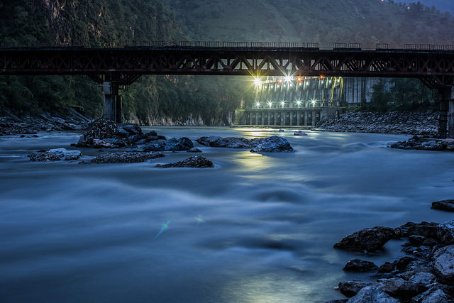 An image of the Kali Gandaki Hydroelectric Plant in Nepal
