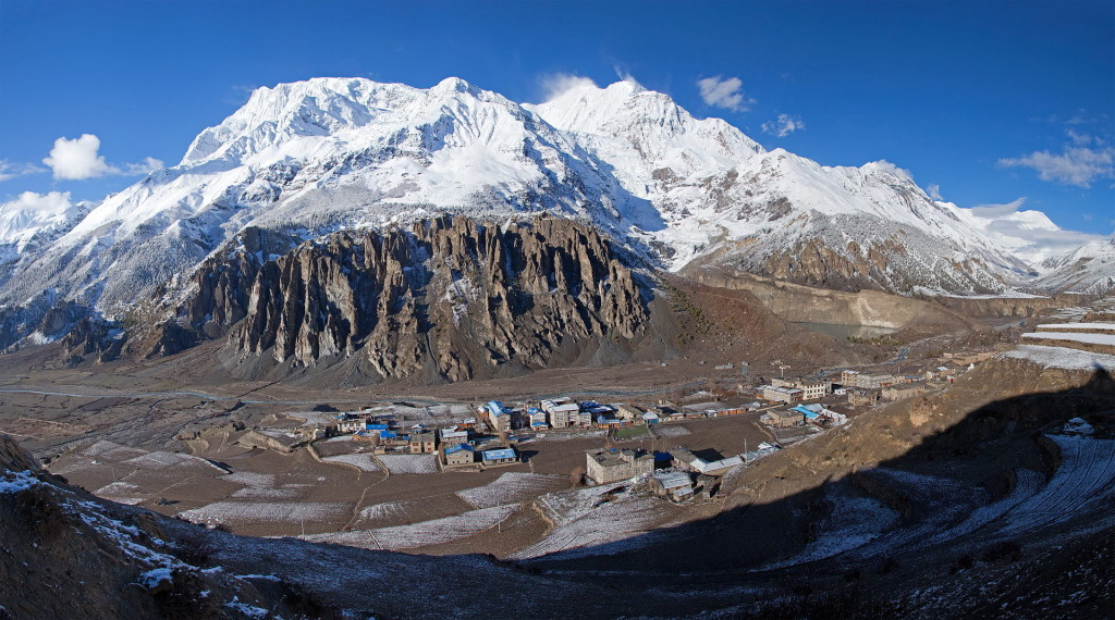 """Manang Annapurna3 Gangapurna"" by Solundir - Own work. Licensed under CC BY-SA 3.0 via Wikimedia Commons"