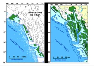 Geographic map of southeast Alaska (Source: Carrera et al./USGS).
