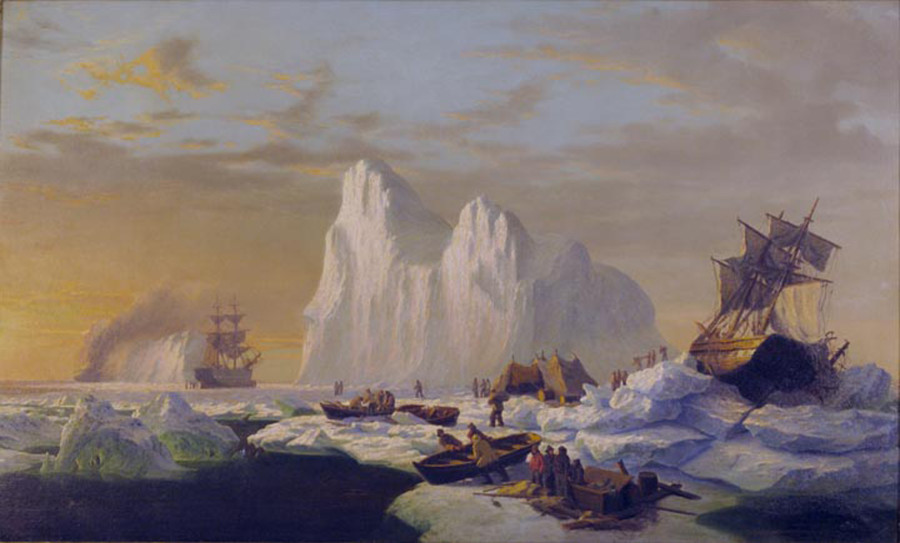 Caught in the Ice Floes, c. 1867