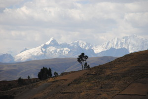 Landscape in Ancash, Peru (source: MBR)