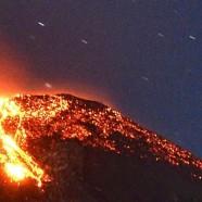 Eruption in Glacier-covered Volcano in Chile