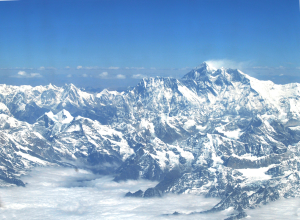 The view of Eastern Himalaya--cryosphere. Photo credit: Asha Kaji Thaku, ICIMOD.