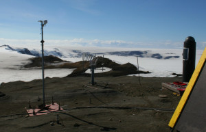 The continuous station GFUM operated by the Icelandic Meteorogical Office (Source: Institute of Earth Sciences)
