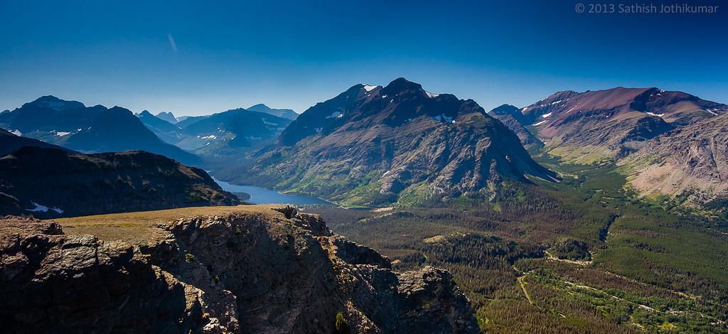 Glacier National Park at Montana (source: flickr)