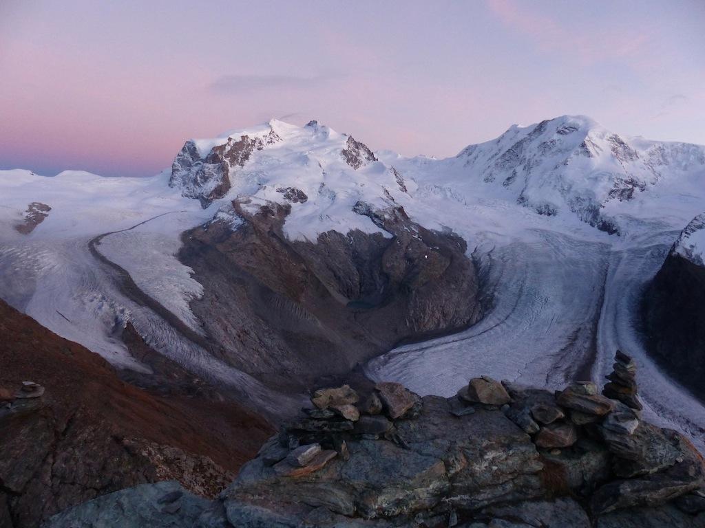 Monte Rosa, Hut & Lyskamm