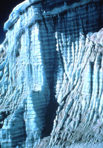Layers in Quelccaya ice cap (Source: Emporia State)