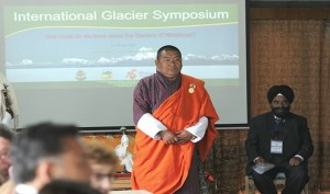 Lyonpo Yeshey Dorji giving opening address (source: UWICE)