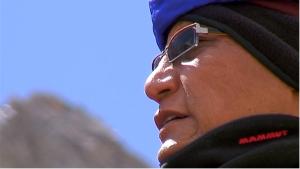 His Holiness Gyalwang Drupka, the twelfth incarnation of Drupka. Source:  Screenshot of Pad Yatra Documentary