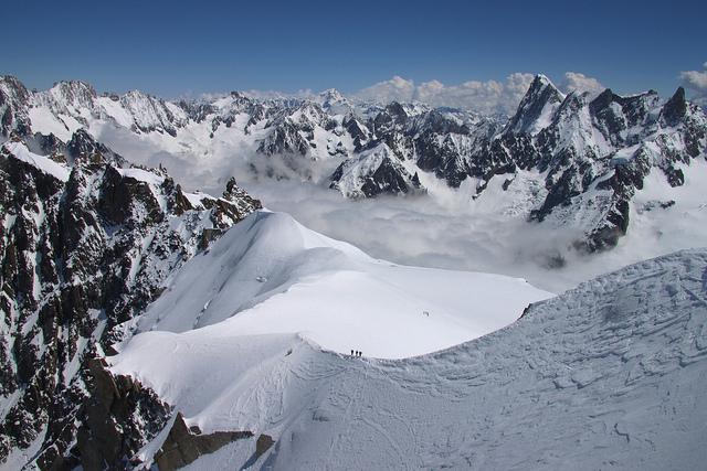 Richard Allaway Mont Blanc Massif