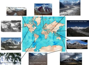 Figure 5: Where to find debris-covered glaciers