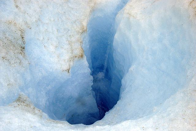 Glacier Thaw Hole