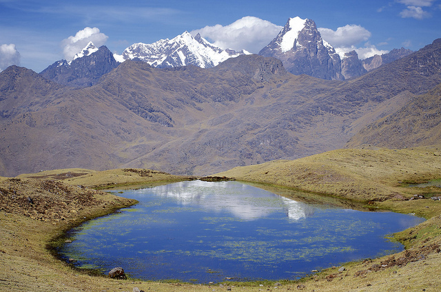 Peruvian Andes. Source: Flickr.