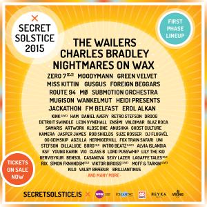 Secret Solstice Festival Lineup
