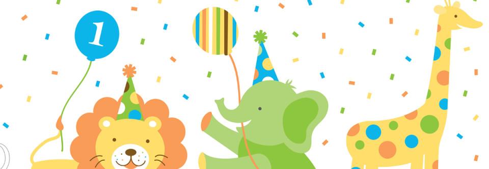 Glacier Hub's 1st Birthday Invitation!