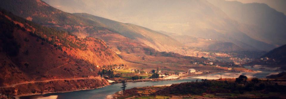 Glacier Lake Bursts in Bhutan
