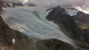 Alaska's Lemon Creek Glacier in September 2014