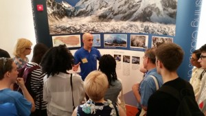 Vanishing Glaciers exhibit