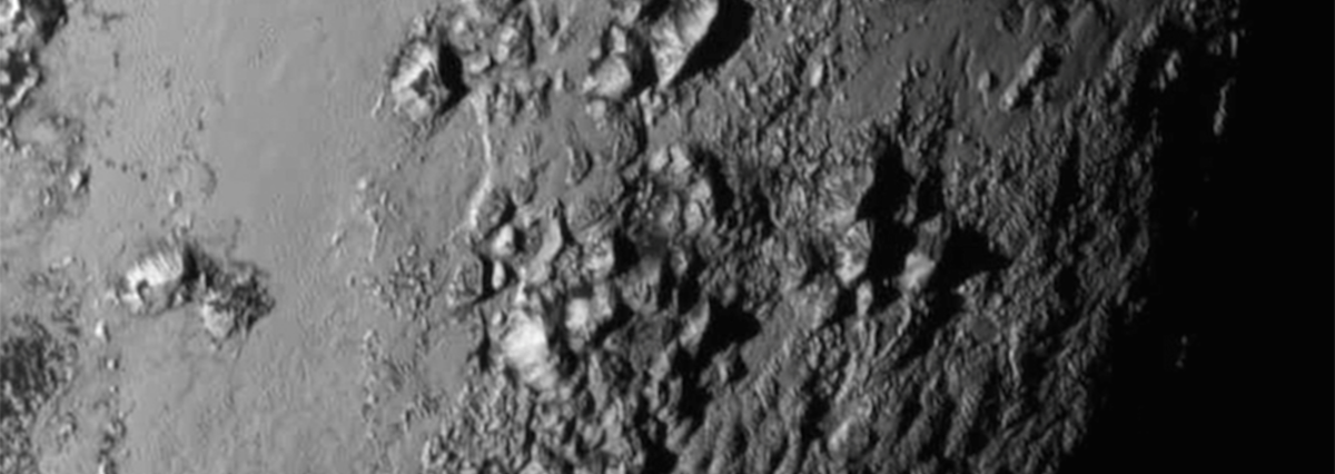Plutos Icy Mountains