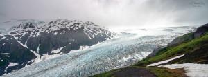 The Exit Glacier. Photo credit: Sathish J. (via Flickr)