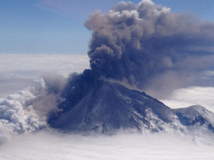 Alaska's Pavlof Volcano, courtesy of NASA Goddard  Space Flight Center