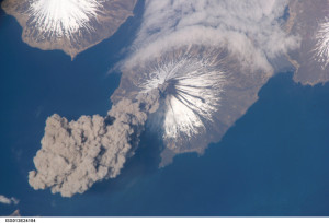 Cleveland Volcano, Alaska, courtesy of NASA
