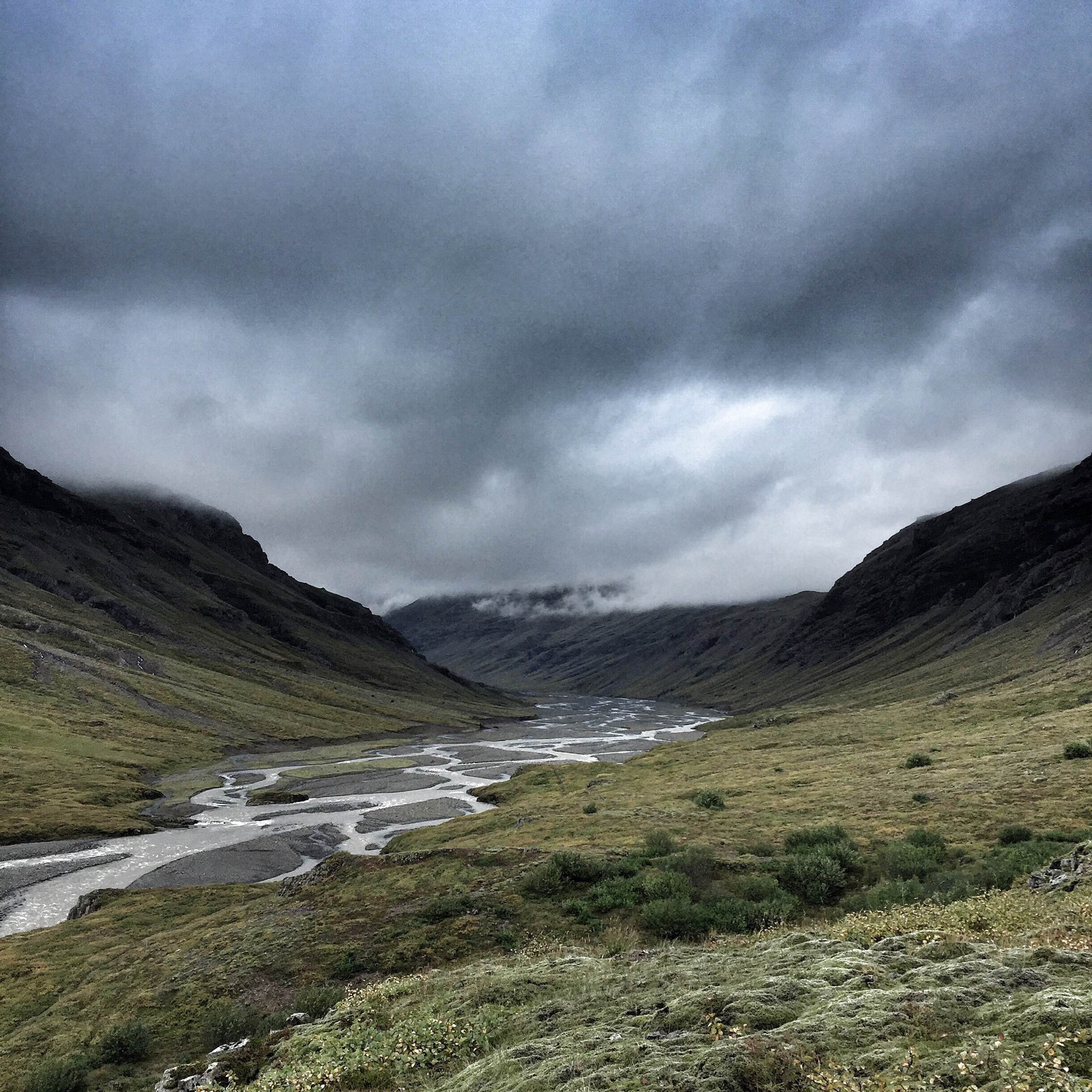 An Icelandic glaciated valley