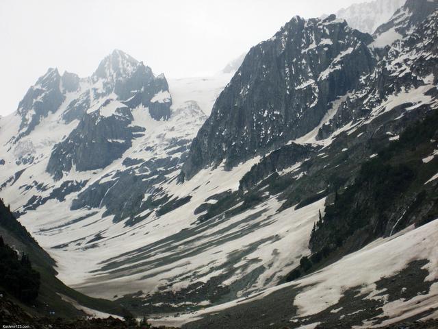Thajiwas Glacier, Credit: www.kashmir123.com