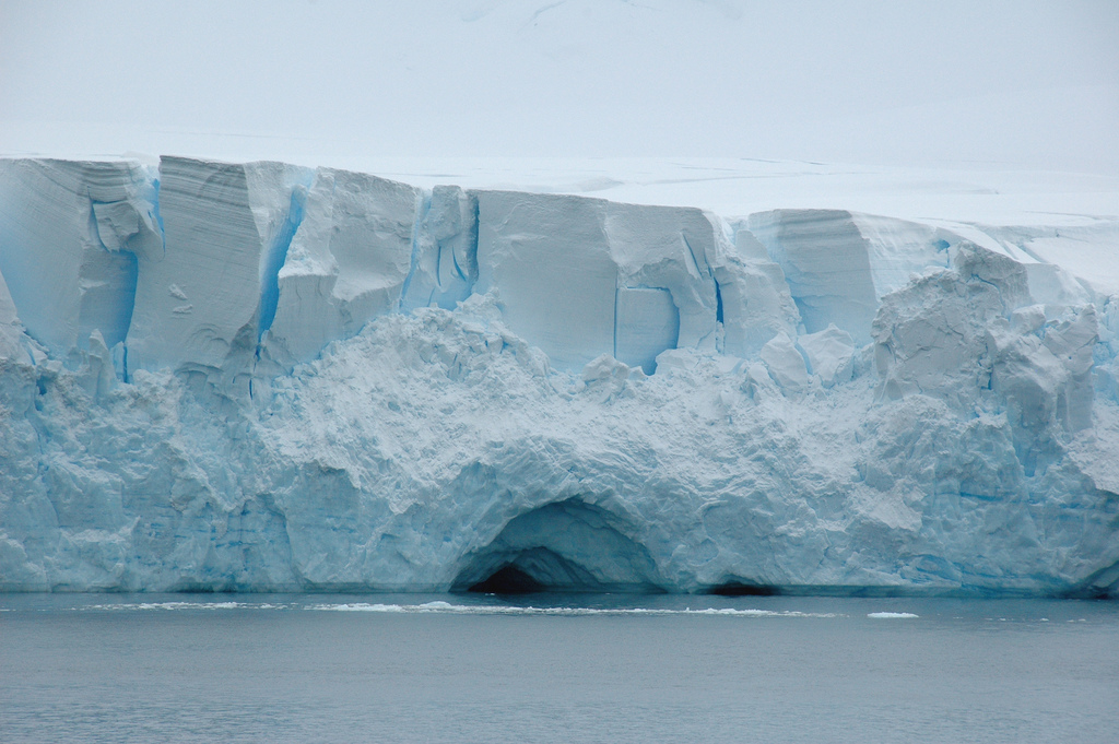 Antarctica - Gerlache strait. Photo courtesy of Rita Willaert/Flickr.