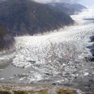 Glacier Lake Bursts in Alaska