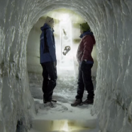 Norwegian Ice Tunnels Address Climate and Mythology